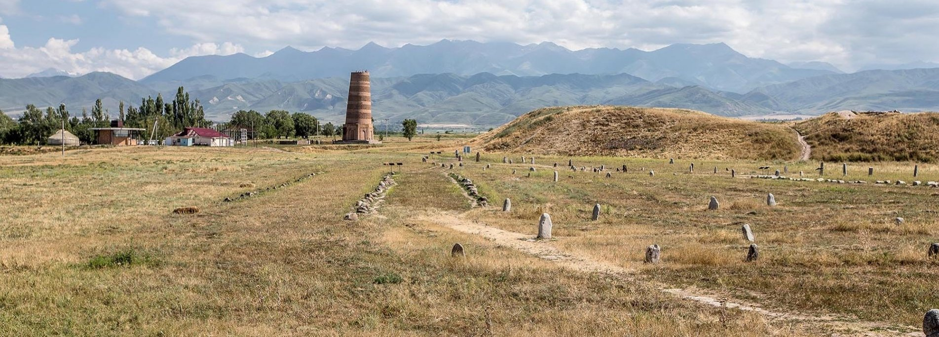 Burana tower  - Historical and archaeological complex