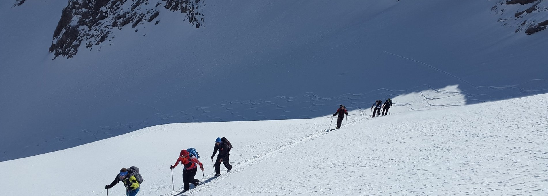 Ski touring in Tien-Shan mountains - Backcountry in Kyrgyzstan