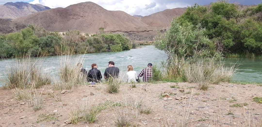 >Возле реки Чу