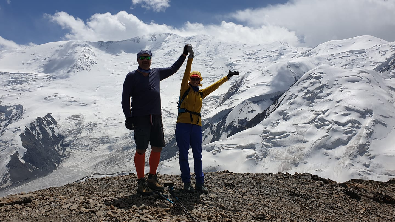 >Yukhin peak