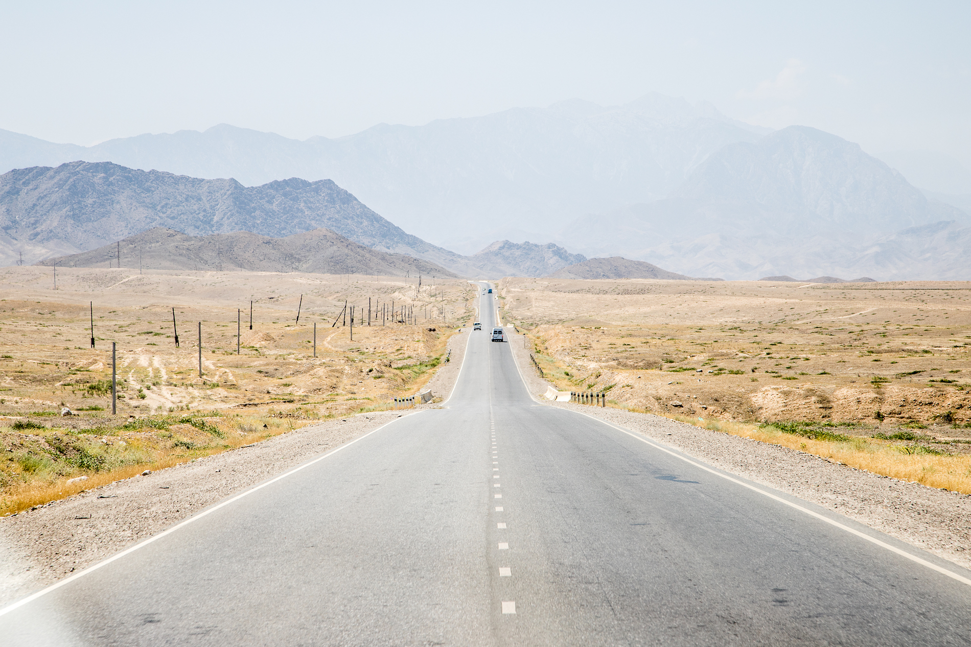 In the vastness of Kyrgyzstan