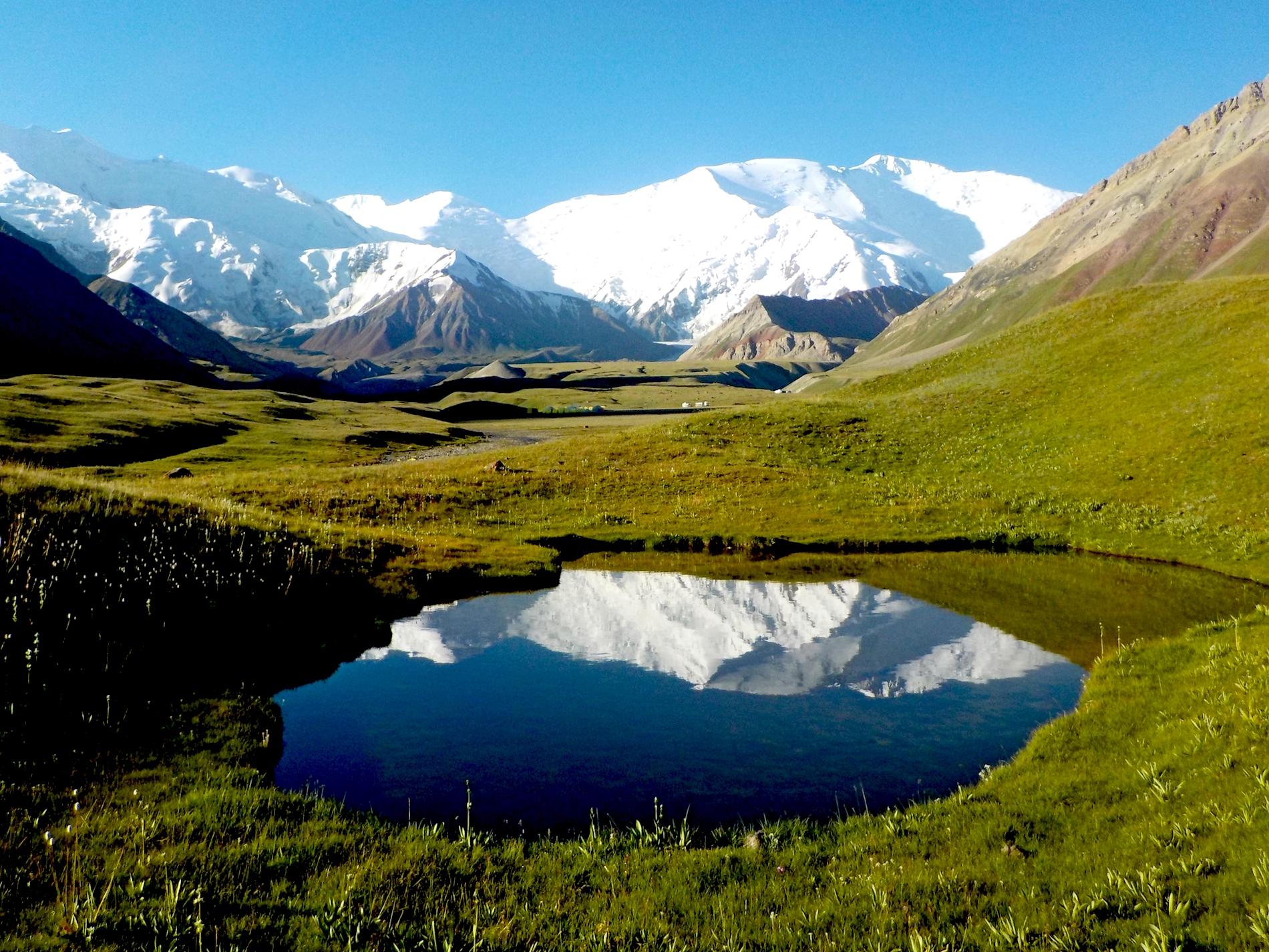 View of Lenin Peak