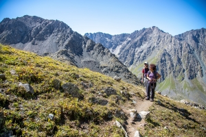 Треккинговые маршруты в горах Киргизии / Trekking routes in the mountains of Kyrgyzstan