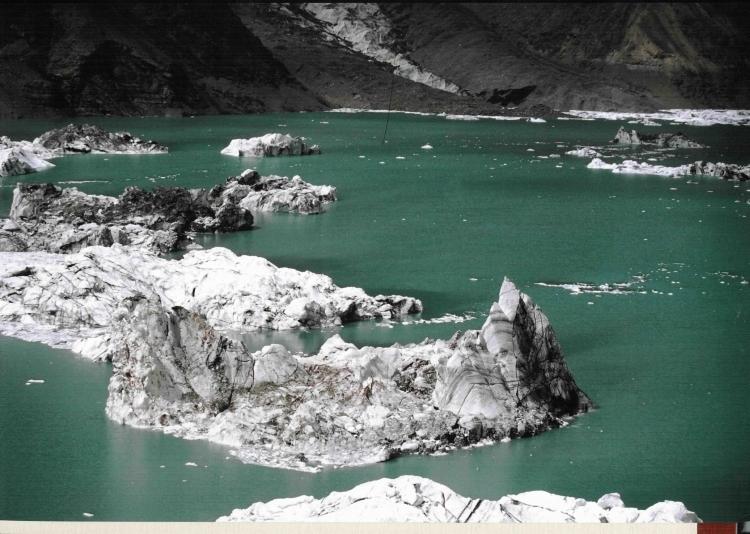 Озеро мерцбахера фото показать