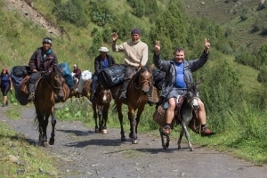 Конный тур в Киргизию / Horse riding tour in Kyrgyzstan